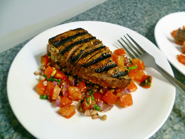 Italian Tuna and Tomato Salad.