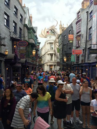 Diagon alley soft opening