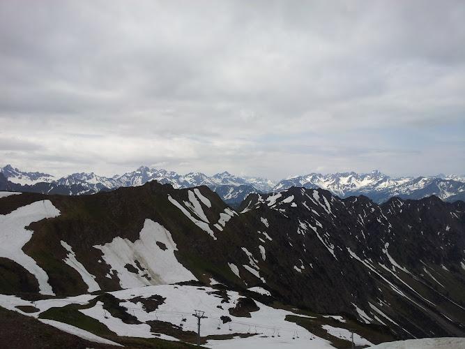 Ausblick von der Station Höfatsblick