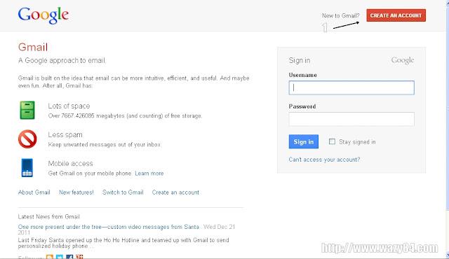Cara Mendaftar Email Di Gmail Versi 2