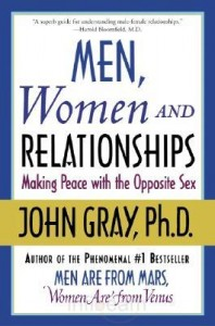 Book Review Men Women And Relationships Cover