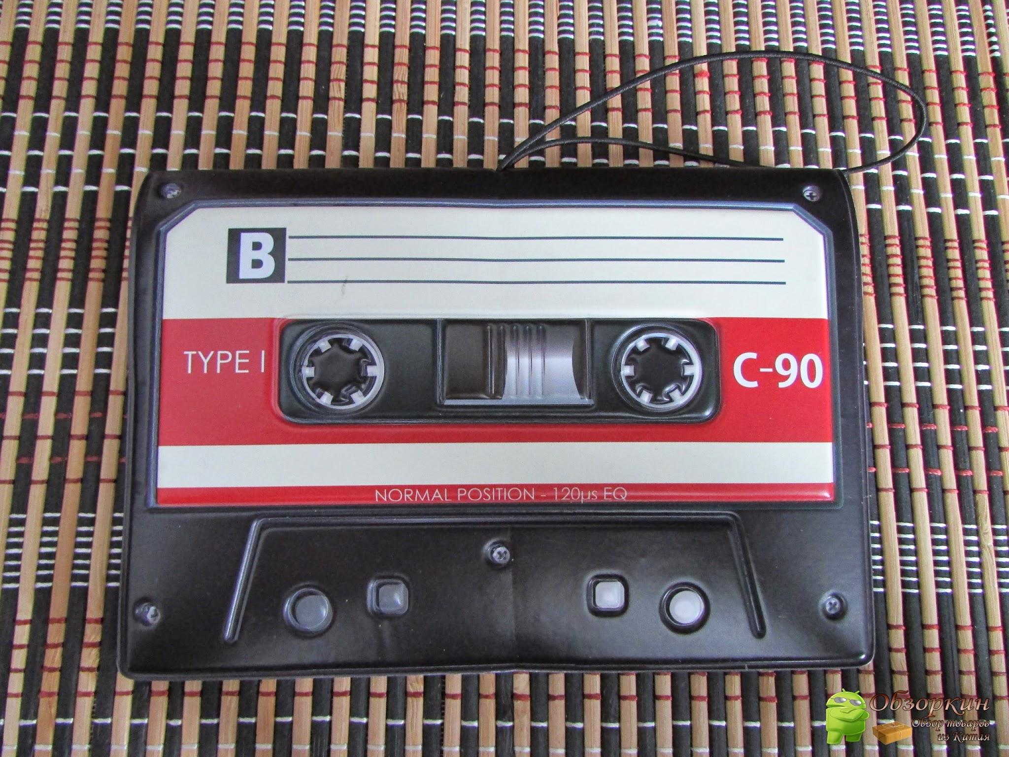 чехол на паспорт в виде кассеты
