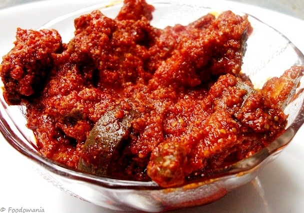 spicy mango pickle recipe