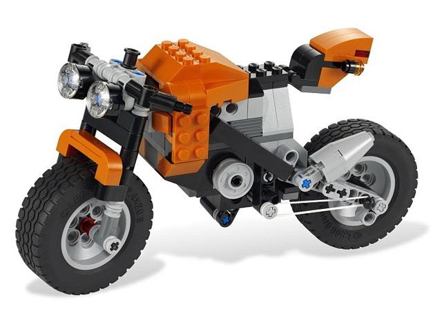 レゴ クリエイター・ストリートバイク 7291