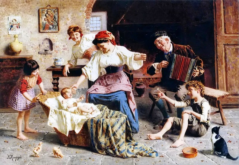 Eugenio Zampighi - The Center of Attention