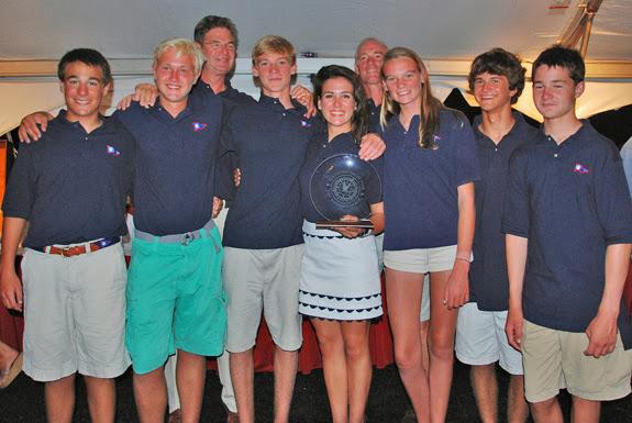 J/122 Patriot- American Yacht Club youth team
