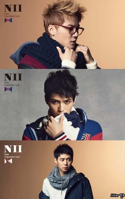 [Fotos] JYJ para NII coleccion de otoño/Invierno  04-21