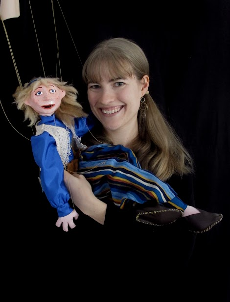 Meet Rosie, our newest puppet