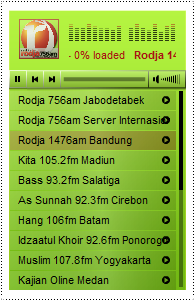 widget player streaming,widget radio,radio internet,radio sunnah