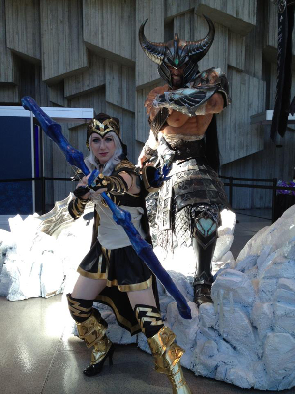 Missyeru và cosplay Ashe tuyệt đẹp tại Pax Prime 2012 - Ảnh 13