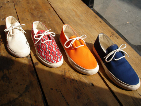 YMC Launches Canvas Deck Shoe for Spring/Summer 2016