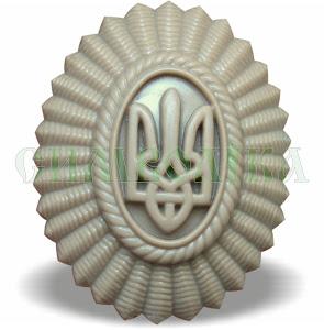 Кокарда  офіцерська (С.З.) світла