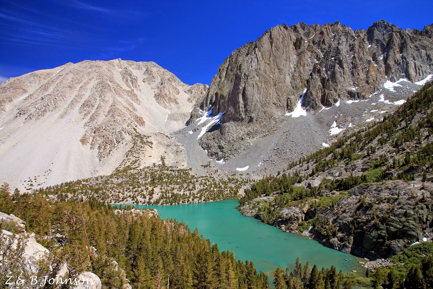 Big Pine Lakes - Z & B Johnson's Adventures