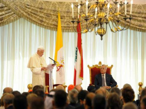 Pope Encourages Culture Of Peace In Lebanon