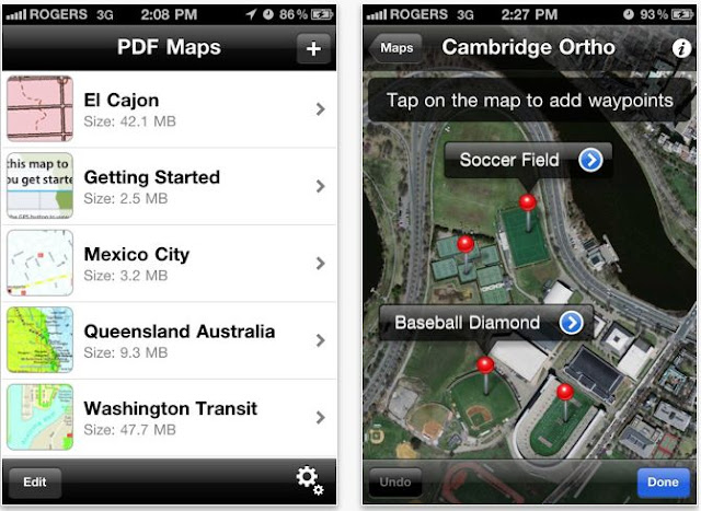Free Geospatial PDF Reader for iPhone, iPad and iPod Touch