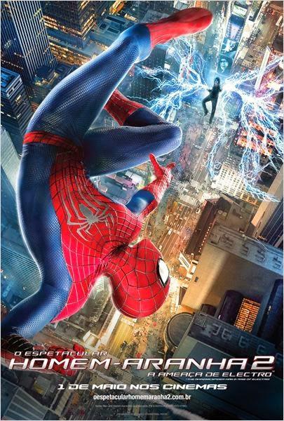 Filme Poster O Espetacular Homem-Aranha 2 - A Ameaça de Electro TC XviD & RMVB Dublado