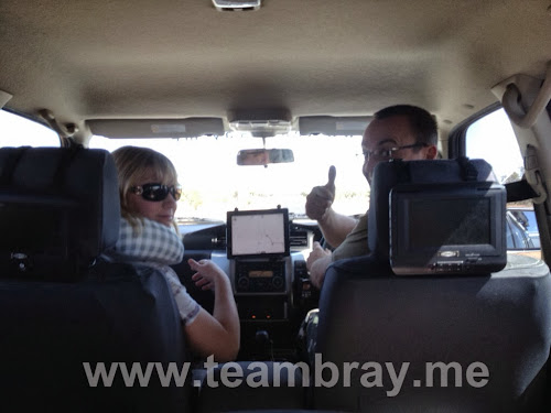 TeamBray on the move