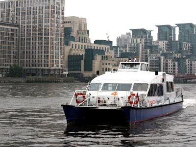 Tate to Tate boat in London