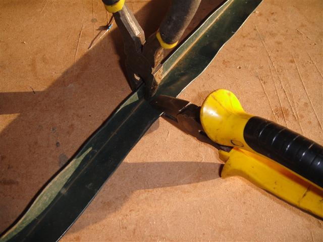 Bending angle aluminium