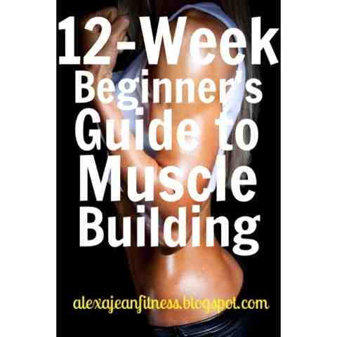 fitness  health 12week beginners guide to muscle