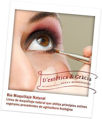 Servicios profesionales de maquillaje en D'estètica & Gràcia