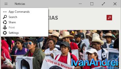 Windows 10 - January Technical Preview - Botón de Menú