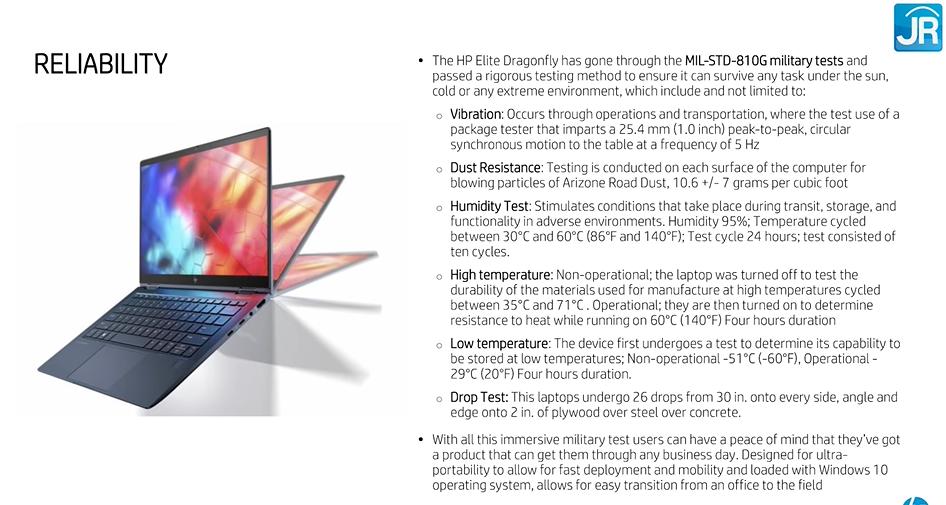 Review Hp Elite Dragonfly Laptop Bisnis Yang Elegan Dengan Security Tingkat Dewa