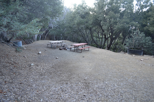 tables at McKinley Spring Camp