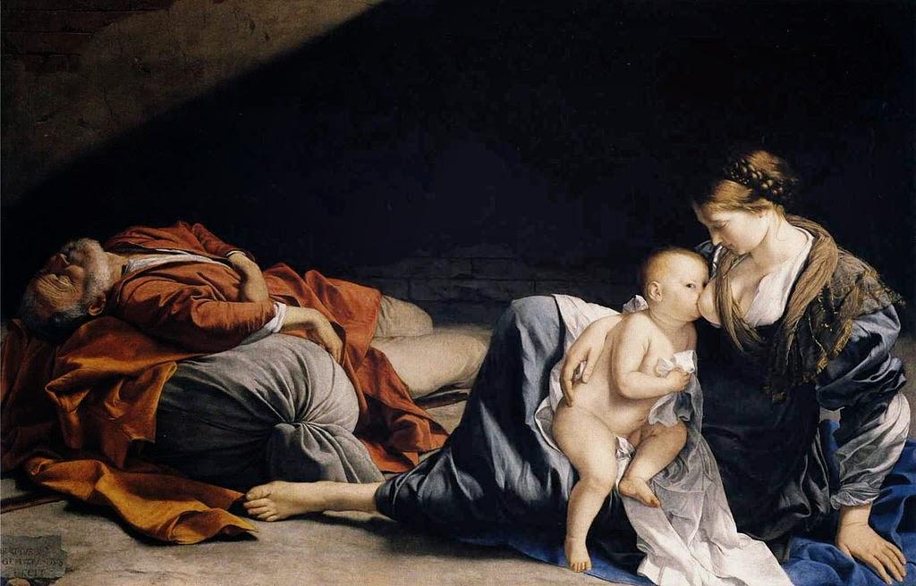 Orazio Gentileschi - Rest on the Flight to Egypt
