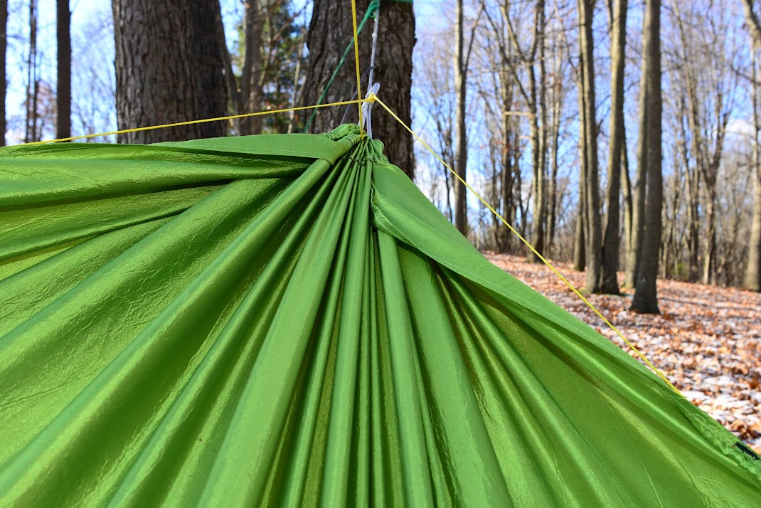 this is hard to document but here is on of the corners and how it goes up to meet the end channel  it doesn u0027t meet the end channel in the center     new hammock design   gathered end  u0026 origami footbox  rh   hammockforums
