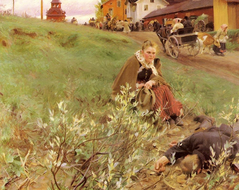 Anders Zorn - The Mora Fair