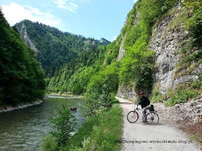 Przełom Dunajca rowerem