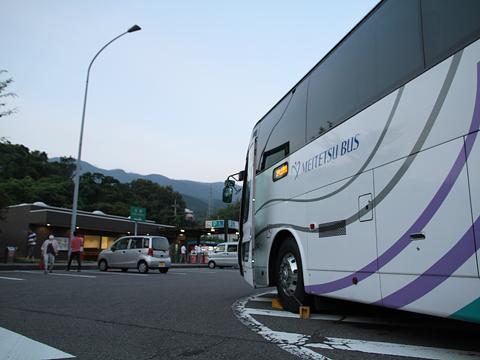 名鉄バス「名古屋~松山線」 側面 その2