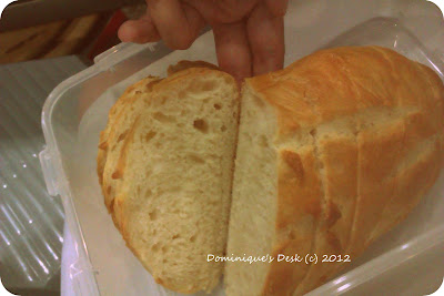 cut bread