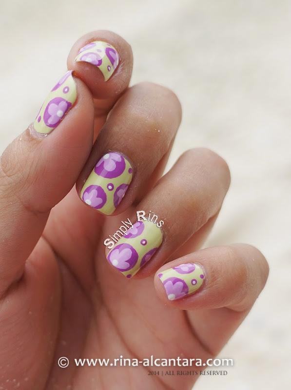 It's My Birthday Nail Art by Rina Alcantara