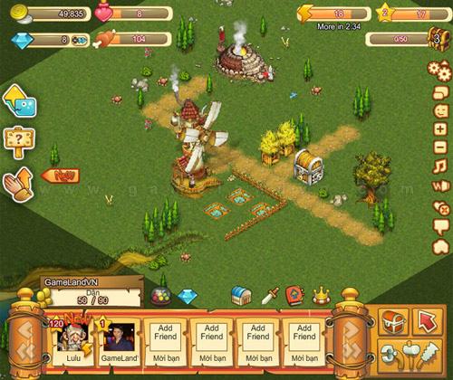 Nuôi Rồng có mặt trên mạng chơi game Soha 3