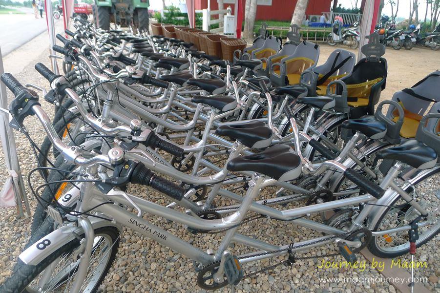 ปั่นจักรยาน_Singha Park