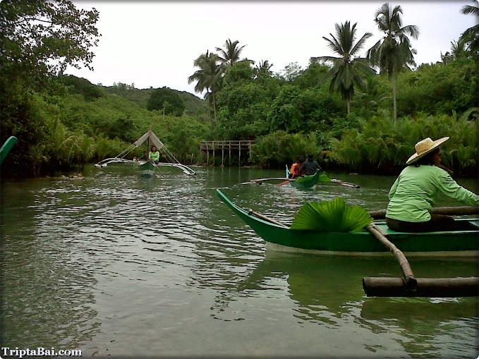 River Crossing at Bojo River, Aloguinsan