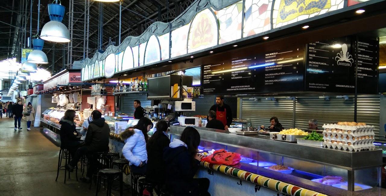 Bar Boqueria at Mercat de al Boqueria, Barcelona