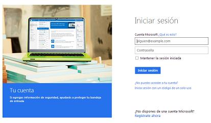 ¿Cómo iniciar sesión en Hotmail?