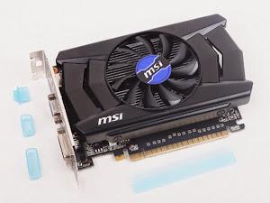 Card đồ hoạ MSI GTX 750 OC Chất lượng, độ bền là điểm nhấn