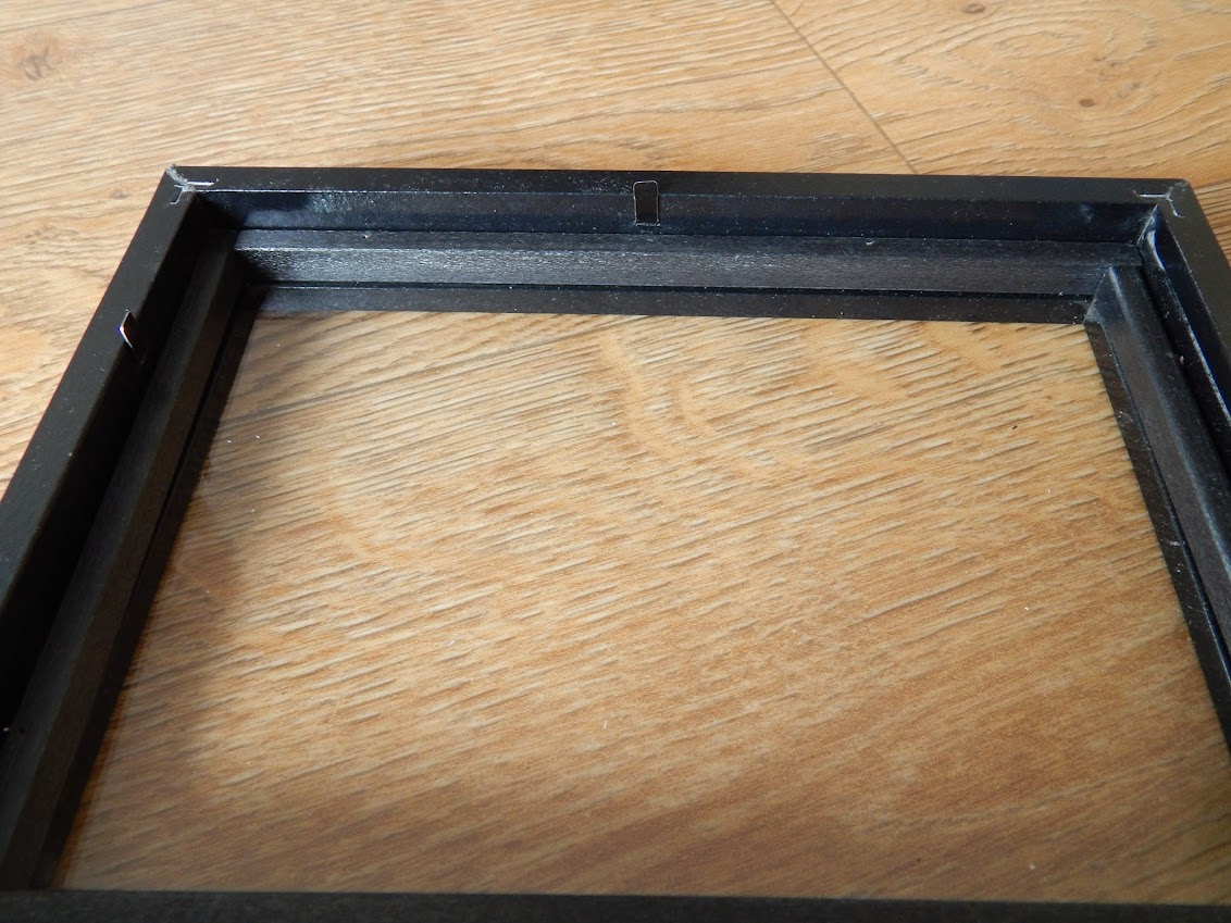 frame with spacers
