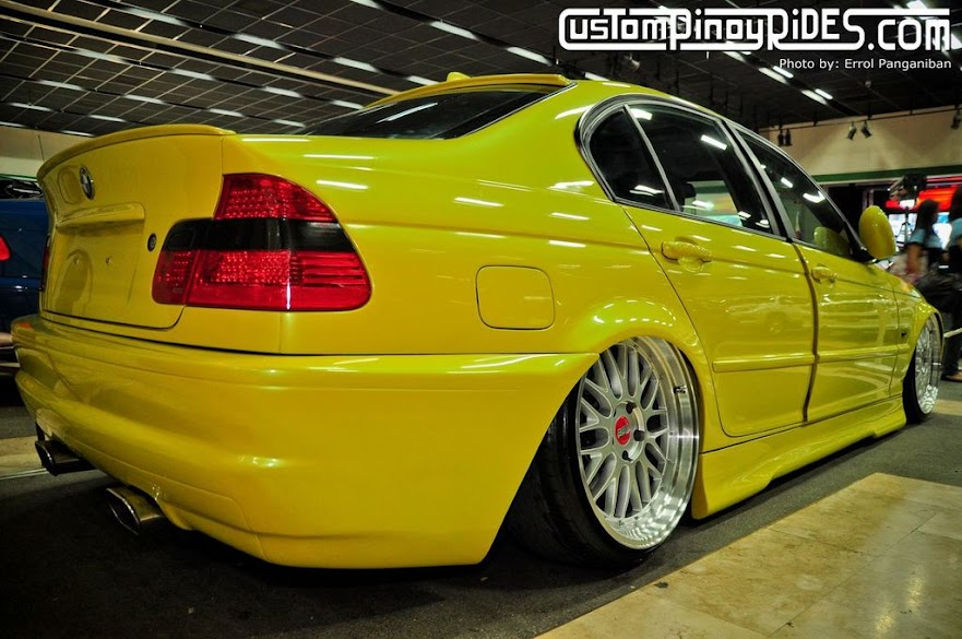 Moses Bobby Gauna's BMW E46 on Air Suspension Custom Pinoy Rides Errol Panganiban pic3