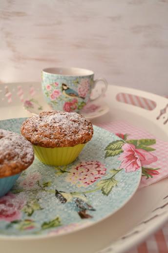 Roasted banana muffins | greenteaandcookies