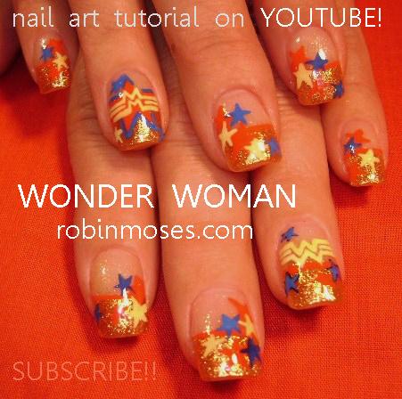 Wonder Woman Nail Art Mac Wonder Woman Gold Pigment Team Edward