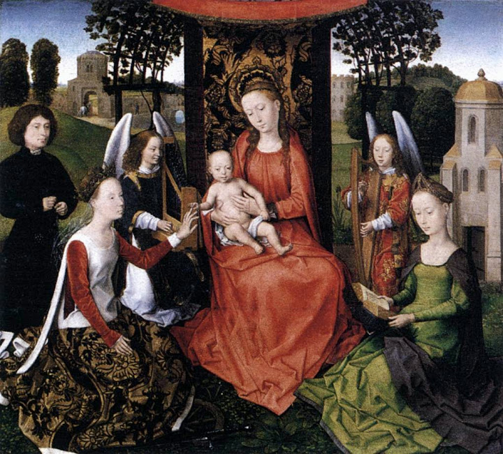 Hans Memling - The Mystic Marriage of St Catherine