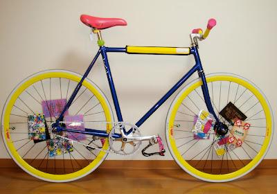 Fixie,Sepeda Fixie,Komponen Fixie