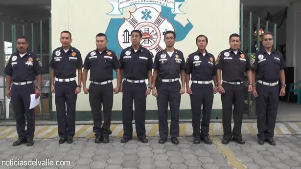 Nuevo comandante de Bomberos Municipales Departamentales