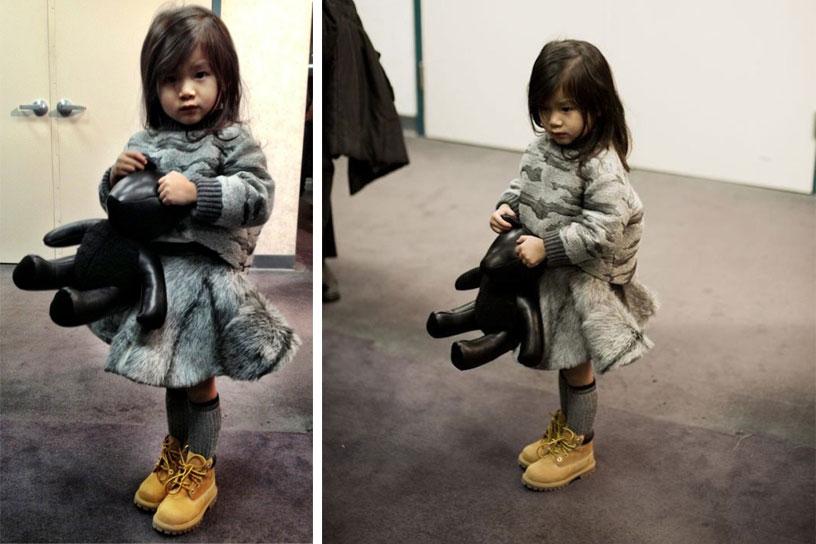 *Alexander Wang(王大仁)紐約時裝秀:小姪女時尚現身! 6