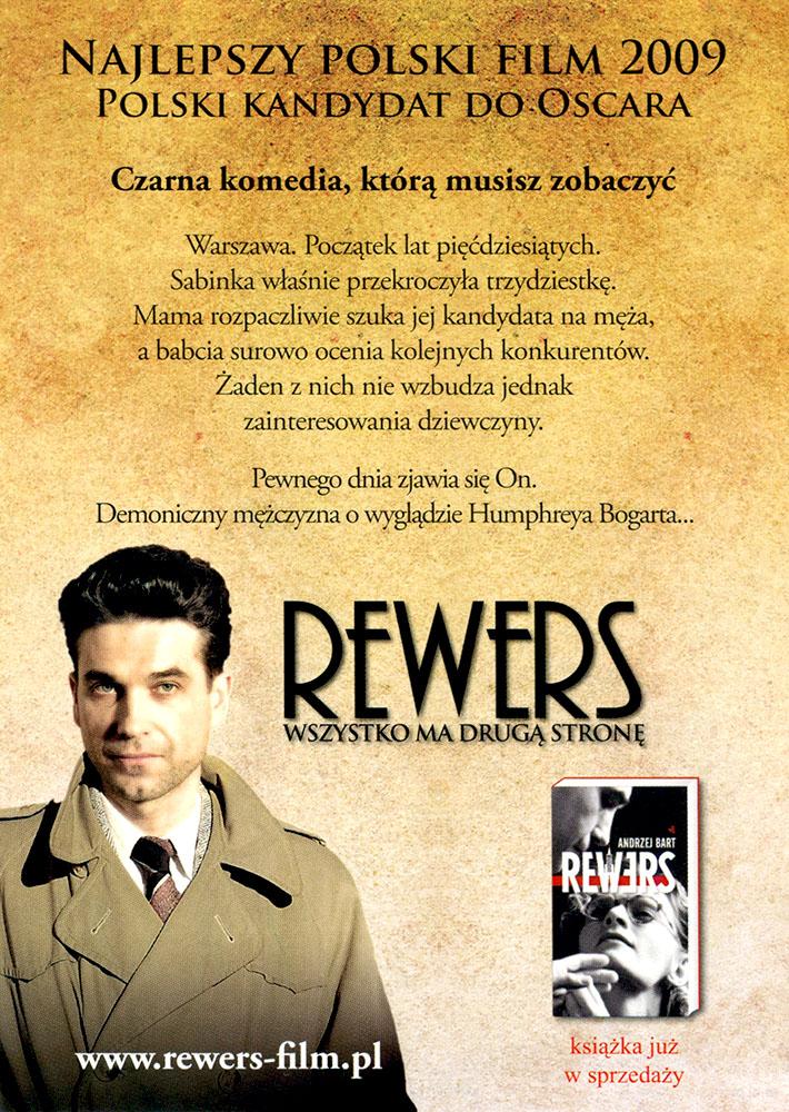 Ulotka filmu 'Rewers (tył)'